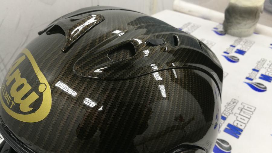 hidroimpresion  arai casco